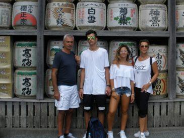 イタリア人家族鎌倉案内~イタリア人も生魚、大丈夫?