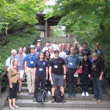 湘南国際村NII参加者と鎌倉を散策