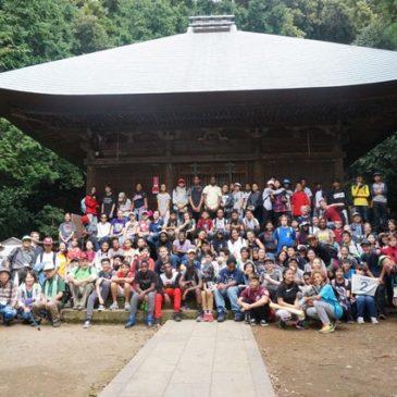 アメリカンスクールの生徒たちと鷹取山ハイキング