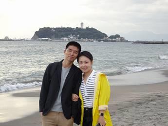 中国人カップル リレーガイド 1日目鎌倉