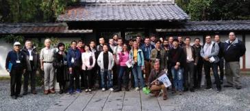 湘南国際村国際会議出席者をバス2台で鎌倉案内