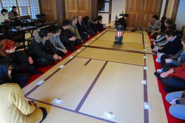 国際会議参加者と鎌倉散策