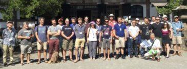 湘南国際村NII参加者 鎌倉の禅寺と神社を訪問