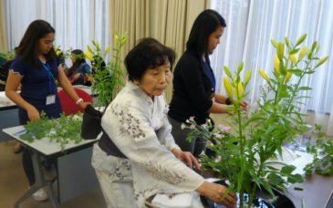 AOTS/EPA介護福祉士候補者に日本文化を紹介②