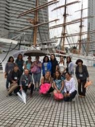 雨の中の横浜歴史ツアー