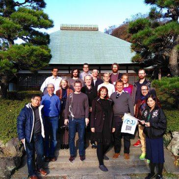 湘南国際村での国際会議参加者、紅葉真っ盛りの鎌倉を楽しむ