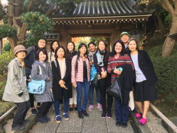 サンモール校母親達と鎌倉紅葉ツアー