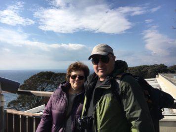 オーストラリア人カップルと楽しい江の島散策(リレーガイドその1)