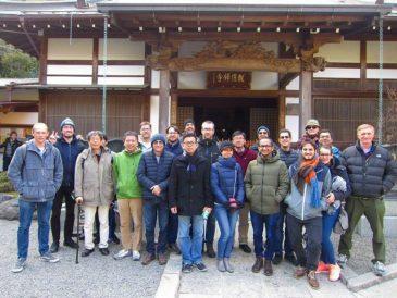 国際会議参加者と鎌倉を散策