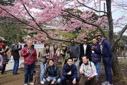 JICA東京研修員 江の島観光、帰りは遊覧船でらくらく!