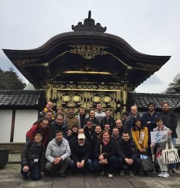 国際会議参加者 梅が咲く北鎌倉の禅寺を楽しむ