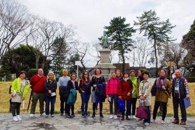 サンモール学校の父母と横浜桜ツアー