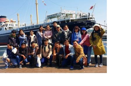 JICA横浜研修員 港を見下ろす景色に釘付け