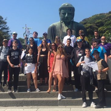 CIEE留学生と猛暑の鎌倉散策