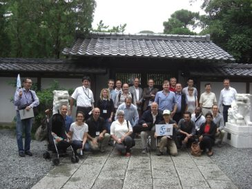 Guiding Participants of the Academic Conference and their Family around Kamakura