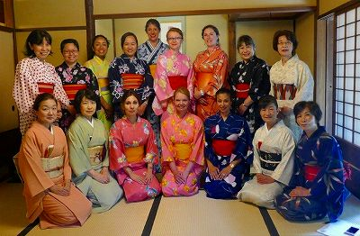 Saint Maur School Parents Enjoy Yukata And Tea Ceremony Event