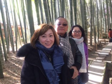 Singaporean Family Visit Great Buddha and Enjoy Japanese Food and Matcha (Powdered Green Tea)