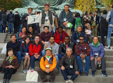 JICA Tokyo Participants Get Excited with Obama-maccha