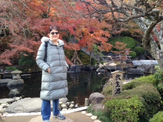 Israeli Woman Enjoys Kamakura in Autumn Leaves