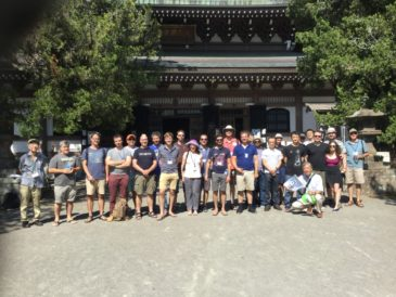 NII Participants in Shonan Village Center Visit Zen Temples and a Shrine in Kamakura