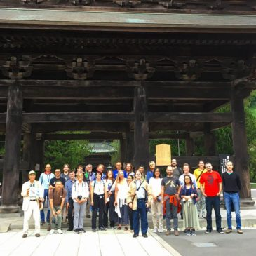 Computer Scientists Tour Kamakura