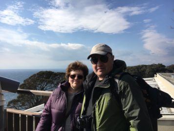 Australian Couple Enjoy Strolling on Enoshima Island (Guide Day 1)
