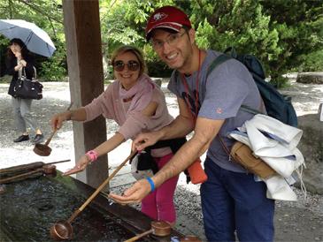 アモーレの国から新婚旅行で古都鎌倉へ