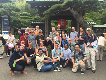 湘南国際村からバスで鎌倉の寺社をご案内