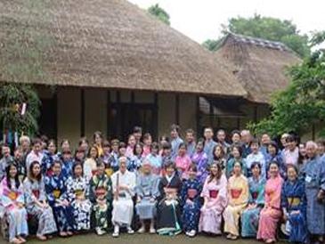 ゆかた姿で日本文化を満喫