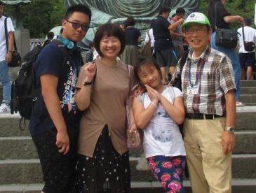 台湾家族鎌倉案内~夏休みは日本へ