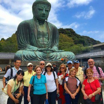 アルゼンチンからの陽気な仲良しグループ、鎌倉をエンジョイ