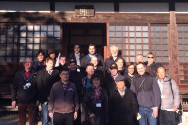 湘南国際村NII参加者を鎌倉へ案内
