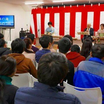 日本文化授業(箏、尺八の紹介と体験)報告