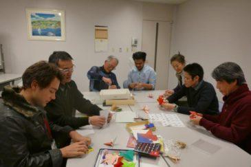 JICA横浜で折り紙体験会