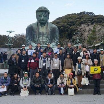 ミャンマーからの研修生は真面目で敬虔な仏教徒