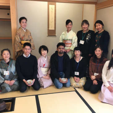 JICA横浜研修員、茶道体験
