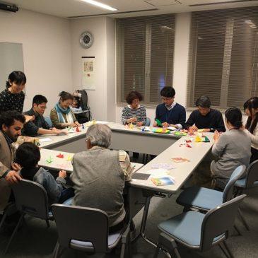 JICA横浜研修員 折り紙体験
