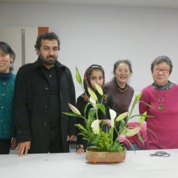 JICA横浜研修員 生け花体験