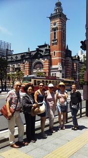 サンモールのお母さん方を横浜にご案内
