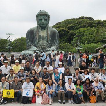 モスレムも仏教徒も楽しく鎌倉見学