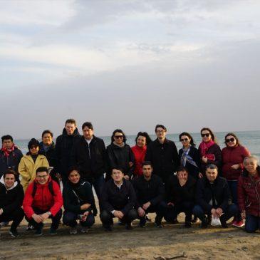 海を見たい! 中央アジア圏からのJICA東京研修員