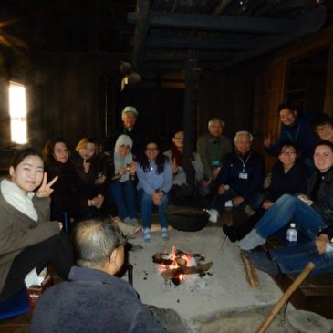 東工大留学生日本民家園&藍染め体験ツアー