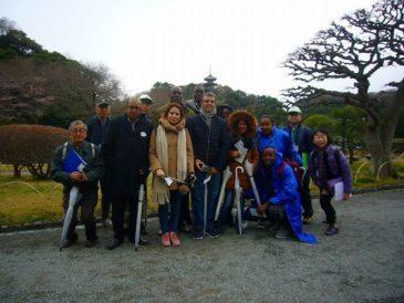 JICA横浜研修員 三溪園で抹茶を楽しむ