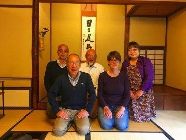 「都筑民家園 外国の方向け茶道体験教室」通訳活動