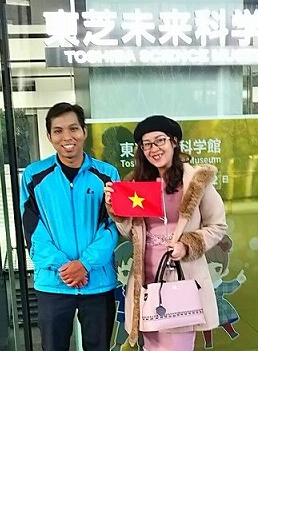 ベトナム旅行社に同行通訳し横浜観光スポットを案内
