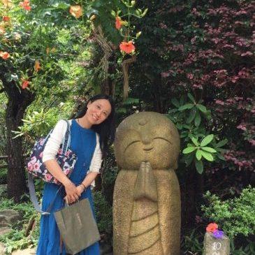 台湾女性と横浜中央市場探検隊をエンジョイ