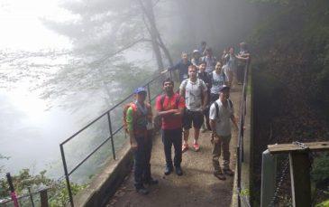 大山ハイキングガイドに初トライ