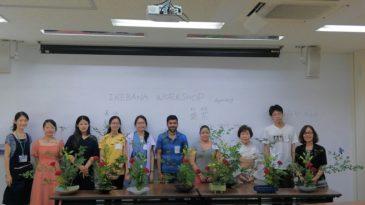 生け花で日本伝統文化を体験