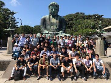湘南国際村の国際会議出席者と2日にわたって鎌倉を散策