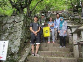 留学生と大山ハイキング